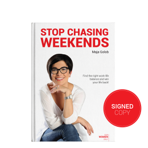 StopChasingWeekends Book Signed Copy